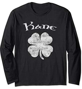 Vintage Kane Irish Shamrock St Patty's Day Shirt