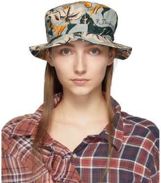 R 13 Blue Floral Bucket Hat
