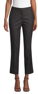 Derek Lam Drake Cropped Pinstripe Pants
