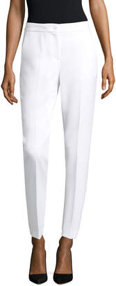 Armani Exchange Women's Banded Waist Woven Pants
