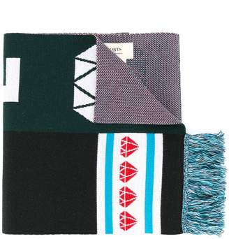 Ports 1961 patterned scarf