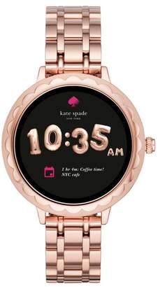 Kate Spade Scallop Bracelet Touchscreen Smart Watch, 42mm
