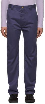 Acne Studios Bla Konst Blue Muray Trousers