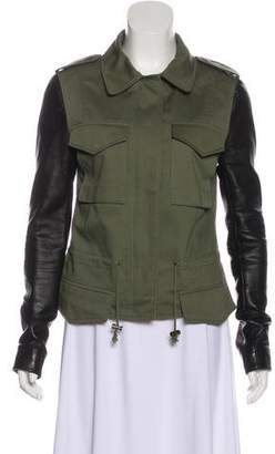 Veda Long Sleeve Military Jacket
