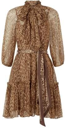 Brown Leopard Print Dresses - ShopStyle UK