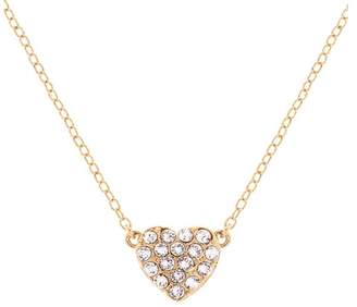 Ted Baker Pippa Pave Crystal Heart Pendant Necklace