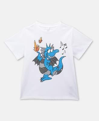 Stella McCartney Dragon Cotton T-Shirt, Men's
