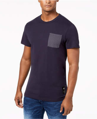 G Star Men's Pocket Cotton T-Shirt, Created for Macy's
