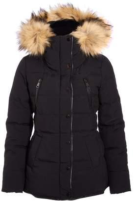 Dorothy Perkins Womens *Quiz Black Faux Fur Jacket