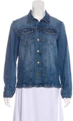 Current/Elliott Denim Casual Jacket