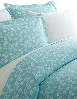 Blissful Bedding Premium Ultra Soft Three-Piece Wheatfield Pattern Duvet Cover Set