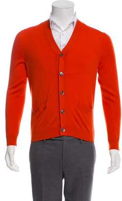 Gucci Cashmere Button-Up Cardigan
