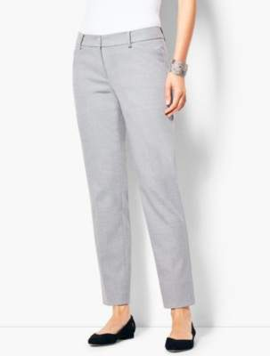 Talbots Hampshire Ankle Pant - Heather