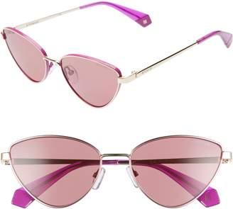 8da25904e8 Polaroid 56mm Polarized Cat Eye Sunglasses