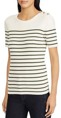 Lauren Ralph Lauren Striped Sailor Top