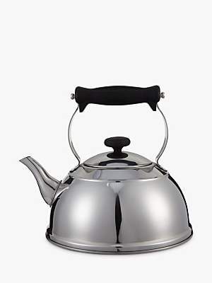 John Lewis & Partners Classic Stovetop Kettle, Stainless Steel