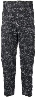 Lost & Found Ria Dunn plaid cropped trousers