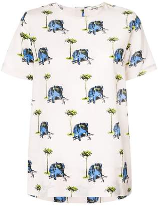 Odeeh koala print T-shirt