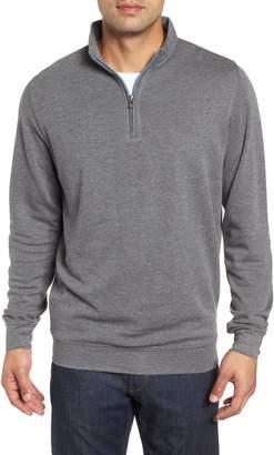 Peter Millar Crown Comfort Jersey Quarter Zip Pullover