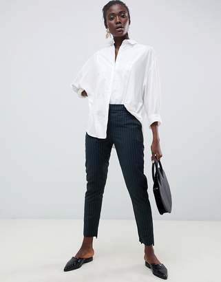 Selected Pinstripe Tailored PANTS