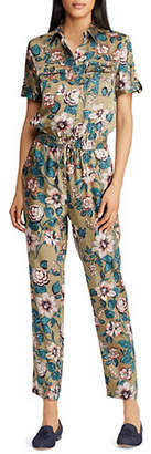 Lauren Ralph Lauren Floral-Print Jumpsuit