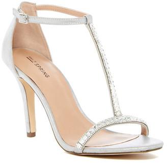 Call It Spring Jerirwen Embellished T-Strap Sandal $54.99 thestylecure.com