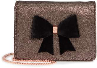 Ted Baker Jeminna Velvet Bow Evening Bag