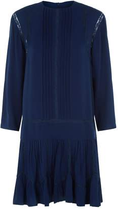 Chloé Silk Drop Waist Dress