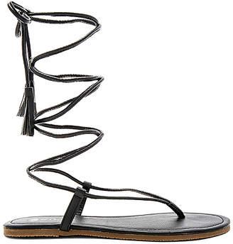 PILYQ Gladiator Sandal in Black $66 thestylecure.com