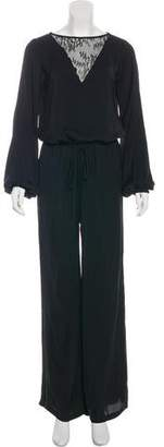 Alexis Long Sleeve Wide-Leg Jumpsuit