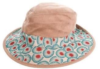 Hermà ̈s Corduroy Bucket Hat Tan Hermà ̈s Corduroy Bucket Hat