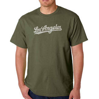 LOS ANGELES POP ART Los Angeles Pop Art Short Sleeve Crew Neck T-Shirt-Big and Tall