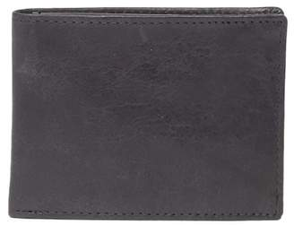 English Laundry Crunch Leather Passcase Wallet