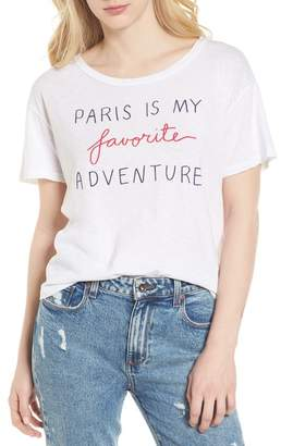 Sundry Paris Is My Favorite Adventure Tee