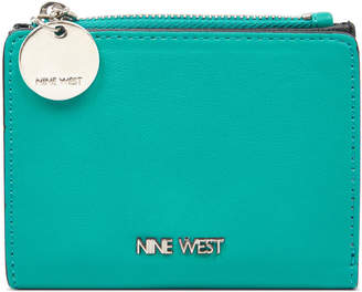 Nine West Slim Zip Wallet