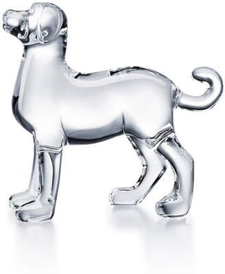 Baccarat Zodiac Dog Figurine, Clear