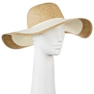 Merona Women's Floppy Straw Hat Tan $14.99 thestylecure.com