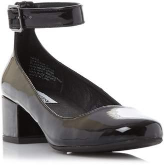 Steve Madden WAILS SM - Ankle Strap Block Heel Court Shoe