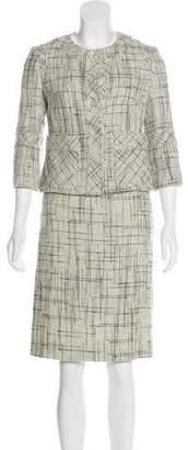 Tuleh Tweed Skirt Suit