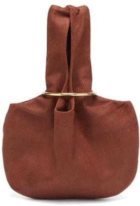 Albus Lumen - Sensillo Mini Suede Corduroy Bag - Womens - Brown