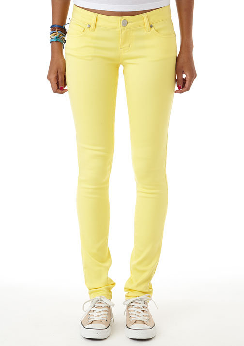 Olivia Color Jegging Vibrant Yellow