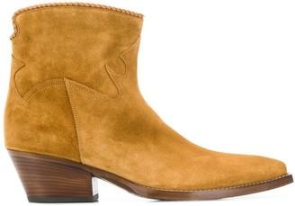 Sartore cuban heel boots
