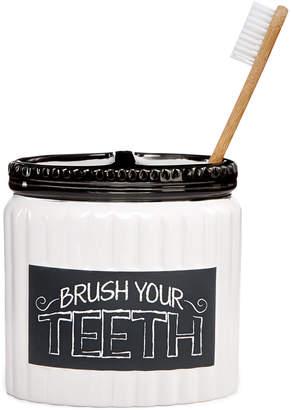 Avanti Chalk It Up Toothbrush Holder Bedding