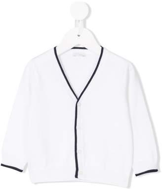 Il Gufo contrast trimmed cardigan