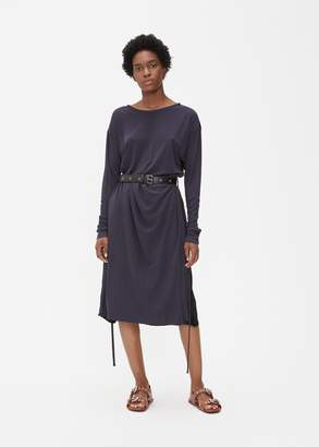 Marni Long Sleeve Belted Layer Dress