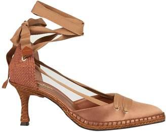 Manolo Blahnik Castañer By Castaner Medium High Heel Sandals