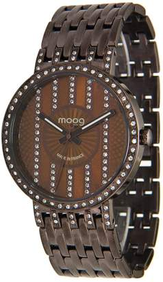Swarovski Moog Paris Look at Me Women's Watch with Dial, Stainless Steel Strap & Elements - M45284-105