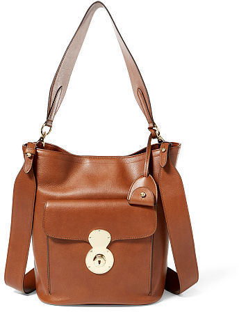 Ralph Lauren The Calfskin Rl Bucket Bag