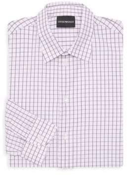 Emporio Armani Check Dress Shirt