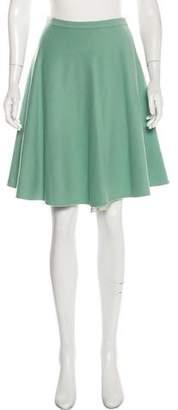Ermanno Scervino Virgin Wool Knee-Length Skirt